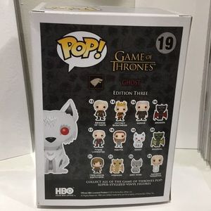 Funko Other - Funko Pop #19 GOT Ghost Convention Exclusive 2014
